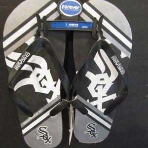 Chicago White Sox MLB Licensed Flip Flops NWT